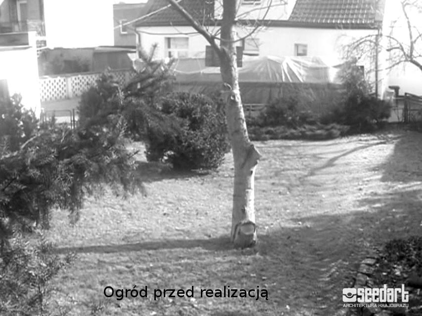 Ogrod Geometyryczny Toruń Taras Seedart-przed-realizacja